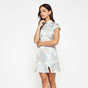 NWT Miss Selfridge Floral Jacquard size 2 Dress